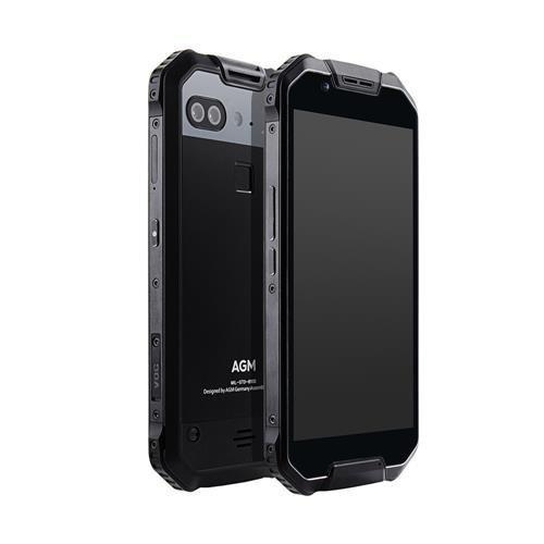 "Смартфон AGM X2 Black 6/64Gb, 12+12/16Мп, IP68, Snapdragon 653, 8 ядер, 2sim, 5.5"" AMOLED, 6000mAh"