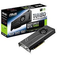 Видеокарта Asus GeForce GTX 1060 Turbo 6GB GDDR5 (192bit) (1506/8008) (DVI, 2 x HDMI, 2 x DisplayPort)
