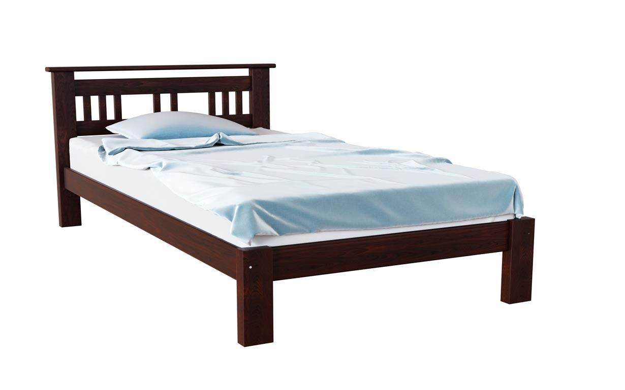 Деревянная кровать Л-123 80х190 см. Скиф