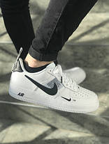 Мужские кроссовки Nike Air Force 1 07 LV8 Utility White/Black, фото 2
