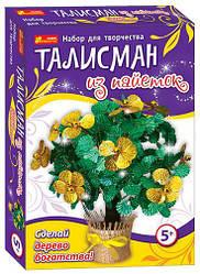 """4741 Талісман з паєток """"Дерево багатства"""" 15100055Р"""