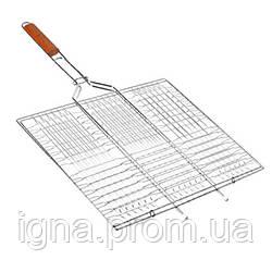 Решетка-гриль плоская средняя 58.5*40*30см MH-0162 (32шт)