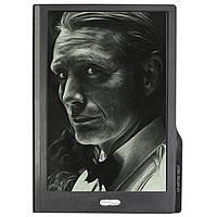 "➤Графический планшет Lesko LCD Writing Tablet 10"" business Black для рисования стилус в комплекте"