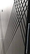 Входные двери Редфорт Диагональ венге серый, фото 2