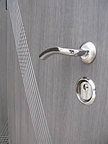 Входные двери Редфорт Диагональ венге серый, фото 3