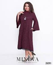 Платье женское демисезонное размеры: 50-52,54-56, 58-60, фото 2