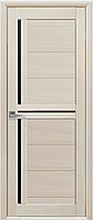 Двери Новый стиль Тринити BLK дуб жемчужный