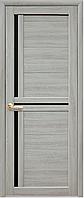 Двери Новый стиль Тринити BLK ясень патина
