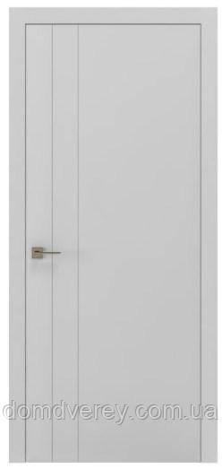 Двери межкомнатные, Родос, Loft, Berta V, полустекло, RAL