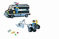 Конструктор Полиция - Инкассаторская машина 209 дет.
