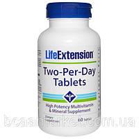 Витамины Life Extension Two-Per-Day Tablets, 60 tabl