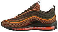 Мужские кроссовки Nike Air Max 97 Ultra 17 Total Orange Sequoia (найк аир макс 97, оранжевые)