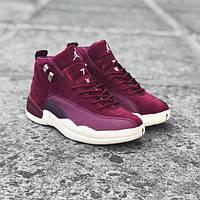 Кроссовки баскетбольные Jordan XII Bordeaux (реплика А+++ ), фото 1