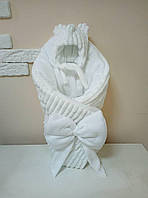 Конверт-плед плюшевый 80*100 см для новорожденного
