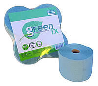 """Туалетний папір зелена/рожева двошарова з перфорацією. 30 м в рулоні """"Green ix"""". В уп. 4 шт + відео"""