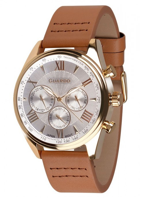 Мужские наручные часы Guardo P11451 GWBr