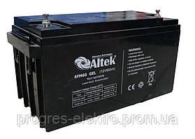 Аккумуляторная батарея Altek GFM60 Gel 12V | 60Ah