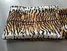 Микрофибровая простынь, покрывало TRUE LOVE полуторное Шкура тигровая, фото 2