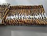 Микрофибровая простынь, покрывало TRUE LOVE полуторное Шкура тигровая, фото 3