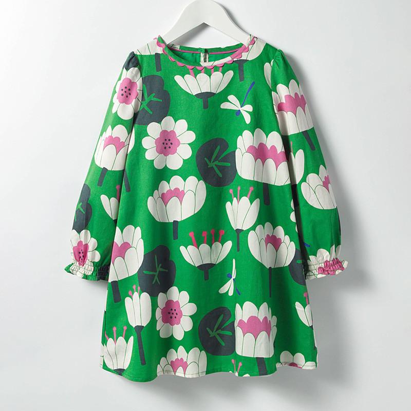 Платье для девочки Лотос Little Maven