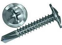 Шуруп с прессшайбой оцинкованный со сверлом 4.2х13 мм.