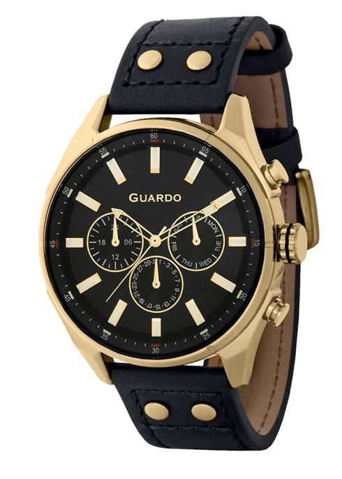 Чоловічі наручні годинники Guardo P11453 GBB