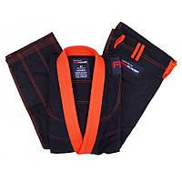 Кімоно для джиу-джитсу FirePower Evolution Black/Orange