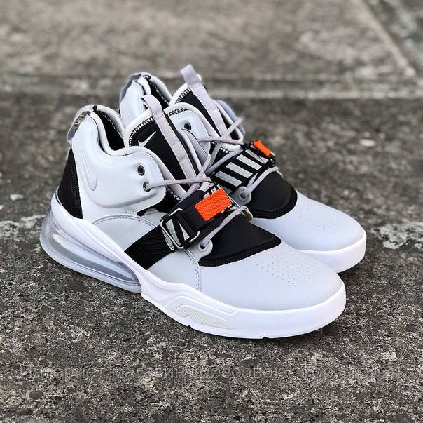 Кроссовки Nike Air Force 270 Wolf Grey (реплика А+++ )