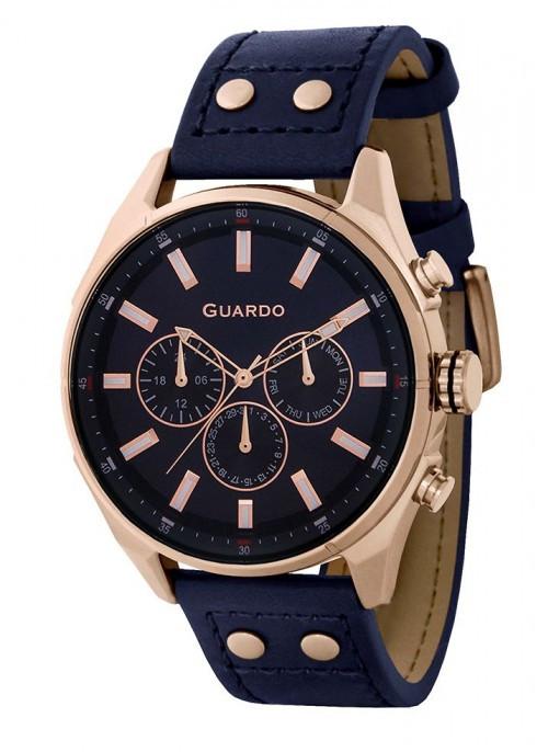 Мужские наручные часы Guardo P11453 RgBlBl