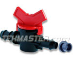 Кран стартовый с резиновым уплотнителем для многолетней и слепой трубки