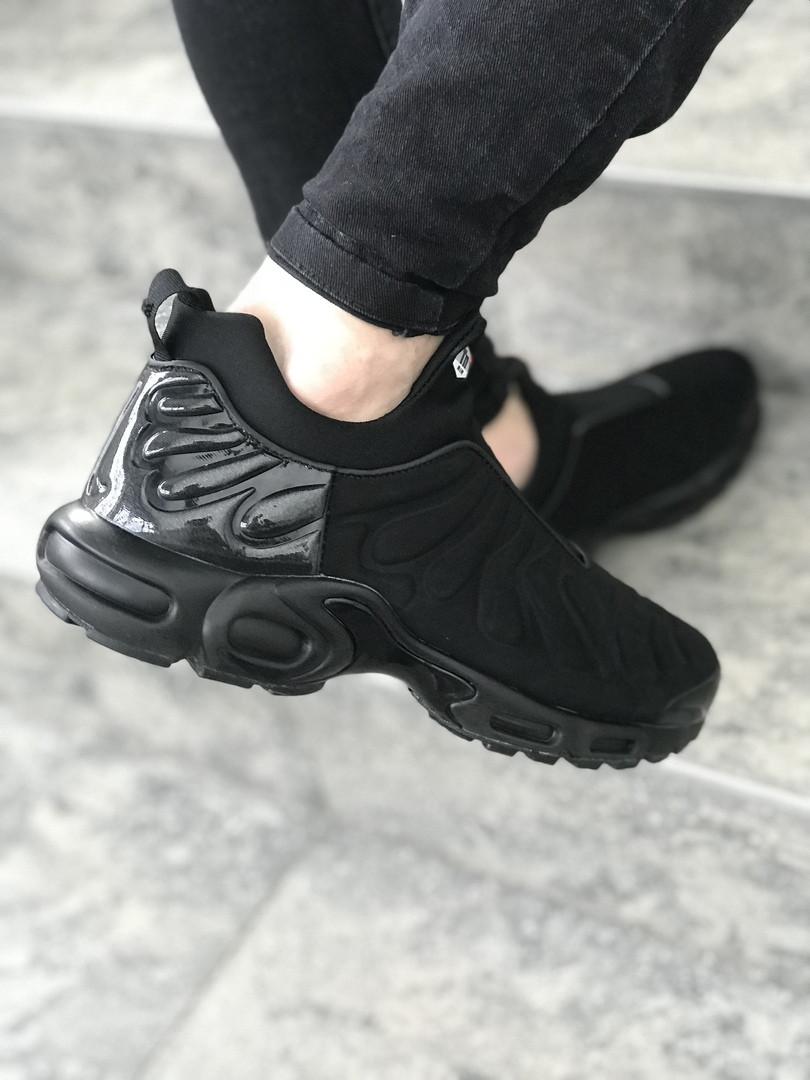 Кроссовки в Стиле Nike Air Max Plus Slip SP TN Black Мужские — в ... 66419c802157e