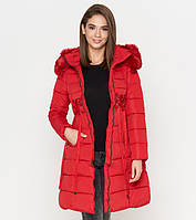 Tiger Force 1816 | Зимняя женская куртка красная
