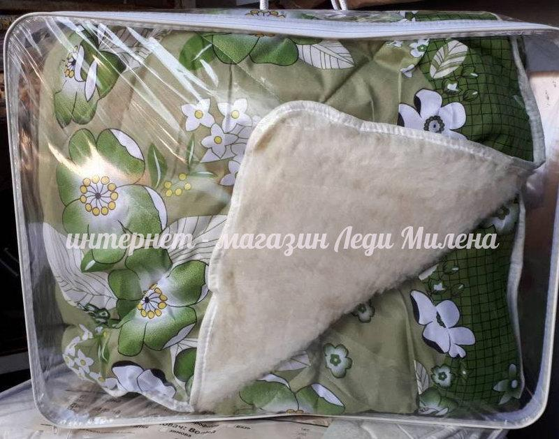 Открытое шерстяное одеяло двухспальное