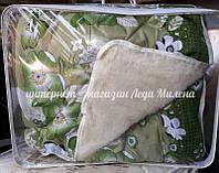 Открытое шерстяное одеяло двухспальное, фото 1
