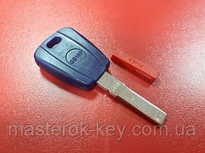 Заготовка автоключа логотип Fiat SIP22 с местом под чип Тип 1