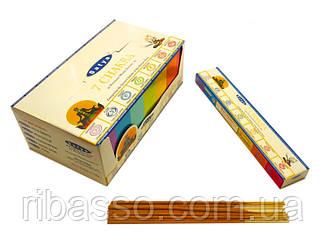9130024 Satya Premium 7 Chakra (плоская пачка) 15 грамм