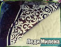 Відкрите ковдру овчина двоспальне, фото 1