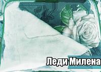 Открытое одеяло овчина двухспальное, фото 1