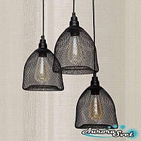Бра настенная AuroraSvet loft 11450 чёрная.LED светильник бра. Светодиодный светильник бра.