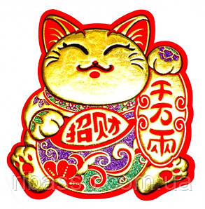 """9300015 Панно на окно """"Счастливый кот"""""""