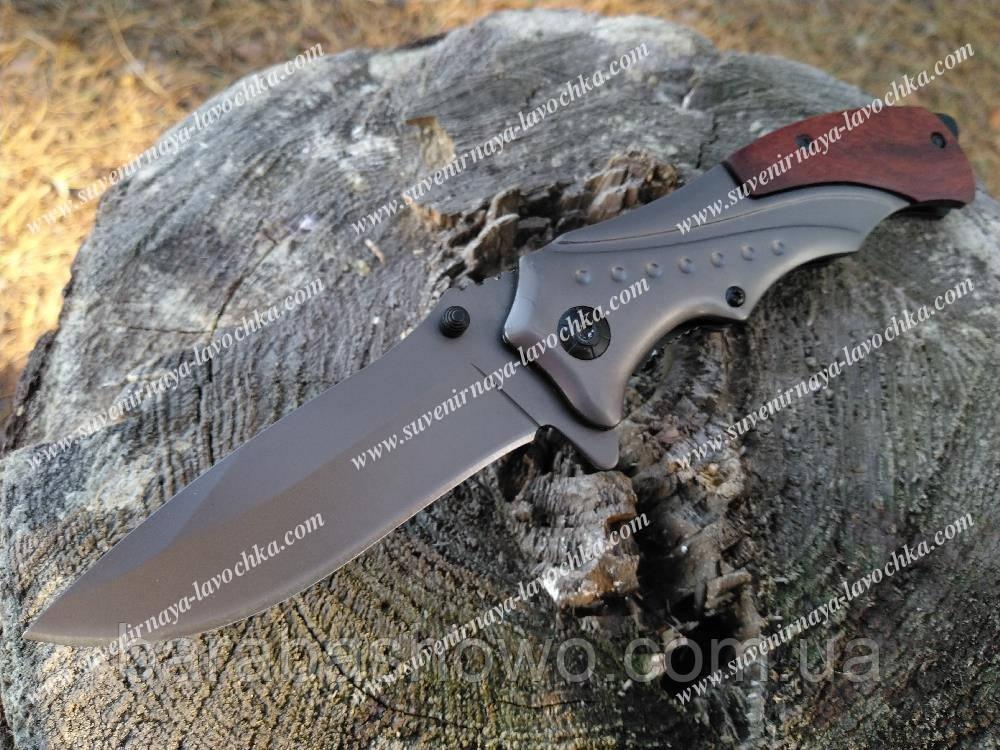 Нож складной B-46 Фирменный полуавтомат на подарок