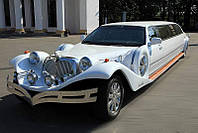 Заказ Лимузина EXCALIBUR PHANTOM replycar 2010г. белый.
