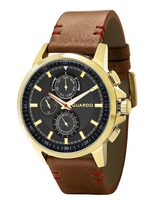 Мужские наручные часы Guardo P11457 GBBr