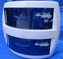 УФ Стерилізатор 2х камерний(ультрафіолетовий Germix) є скол на верхній камері (на функціональність не вл