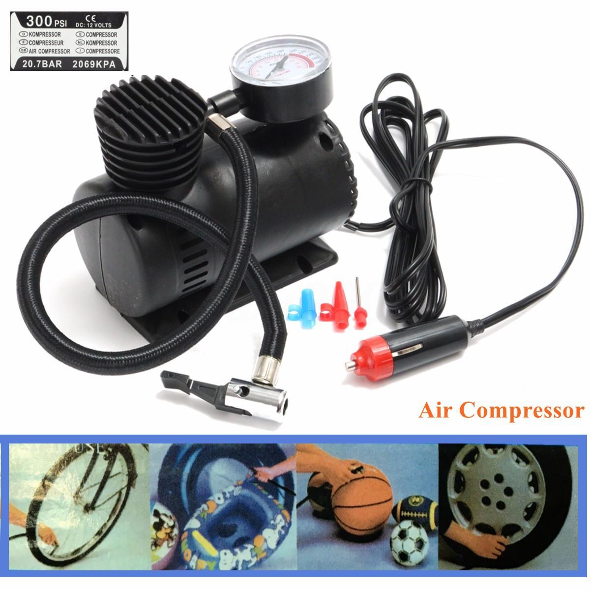 Автомобильный насос (компрессор) Air Compressor DC-12V.