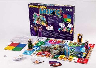 Настольная экономическая игра.Детская стратегическая игра.Игра настольная большая Большой бизнес.