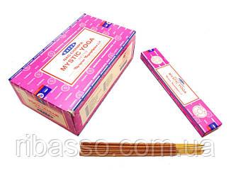 9130060 Satya Mystic Yoga (плоская пачка) 15 грамм