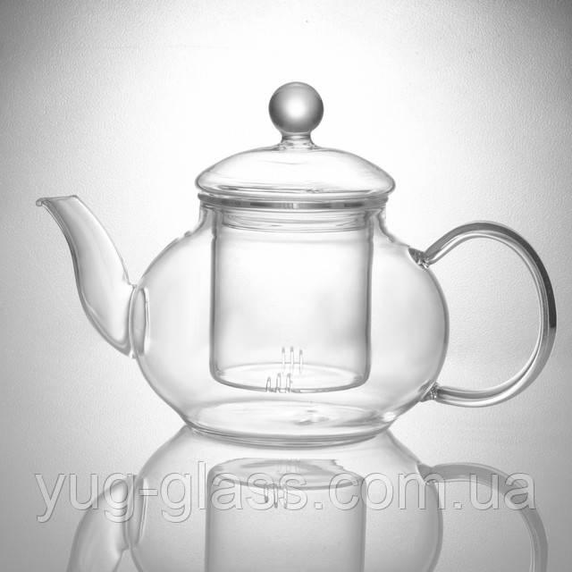 Чайник заварочный стеклянный  600 мл.