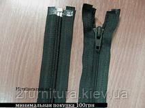 Молнии спиральные №5 (60см) 5шт 1560 темно-зеленый