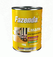 Эмаль для пола ПФ-266 Fazenda красно-коричневая 0.9 кг